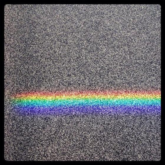 54-365Floor rainbow. Level 7, P Block, QUT.