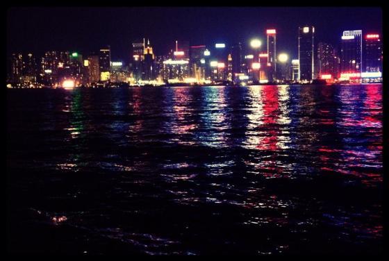 70-365 Hong Kong Harbour lights.