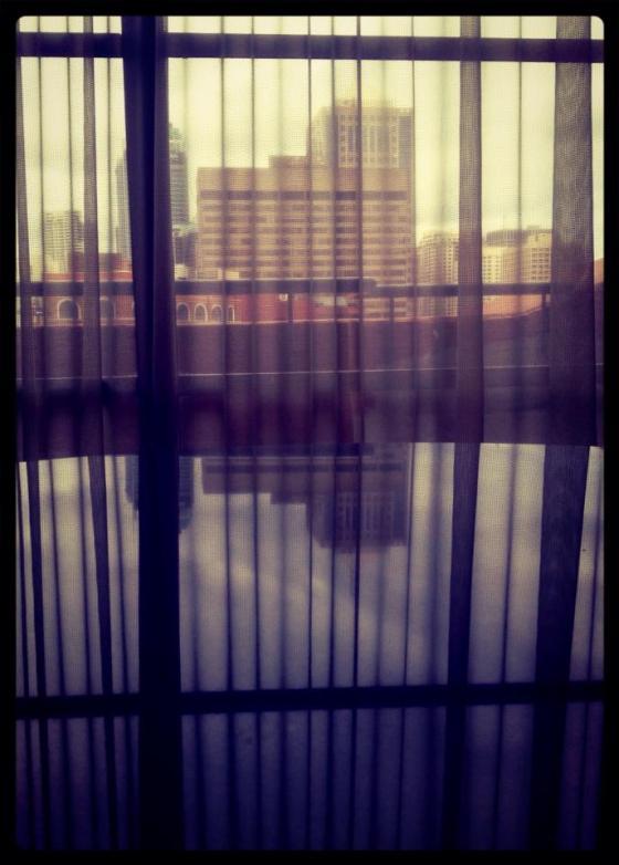 9-365 Out the window. Medina Executive, Sydney.